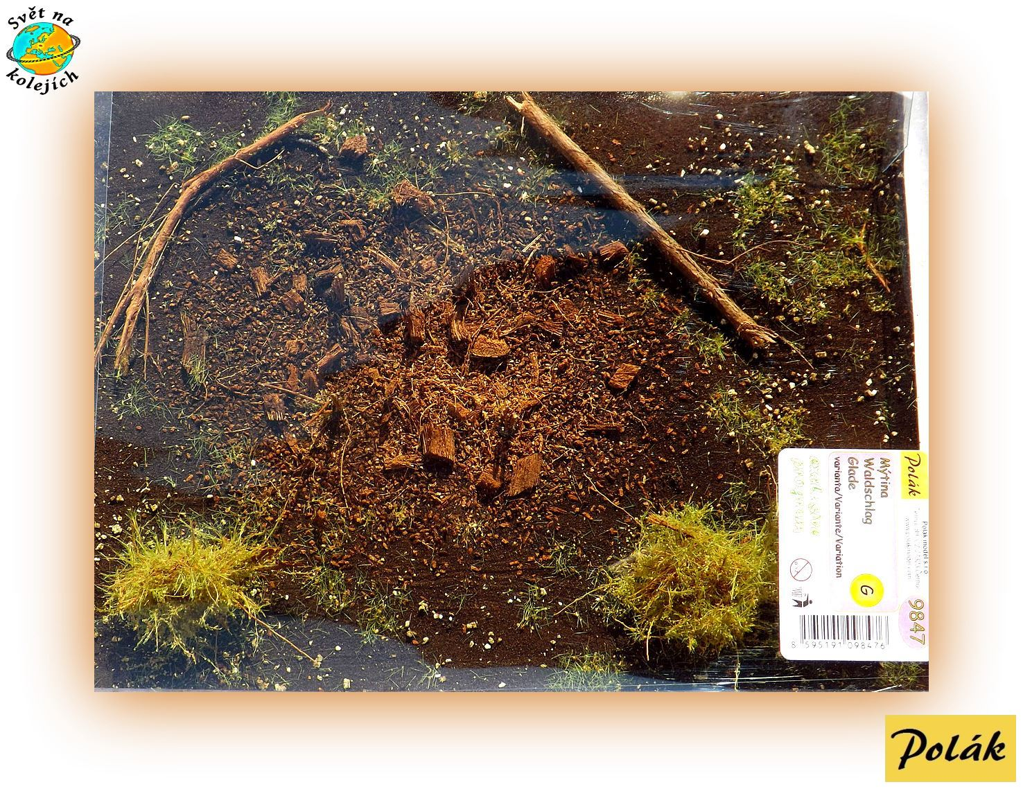 "POLÁK 9847 - FOLIAŽ "" EXCLUSIVE "" / PASEKA"