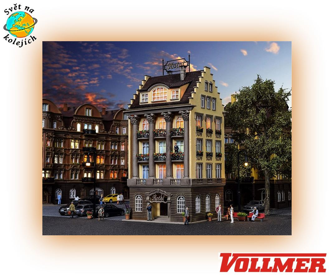 VOLLMER 43772 HO - GRAND HOTEL PUB